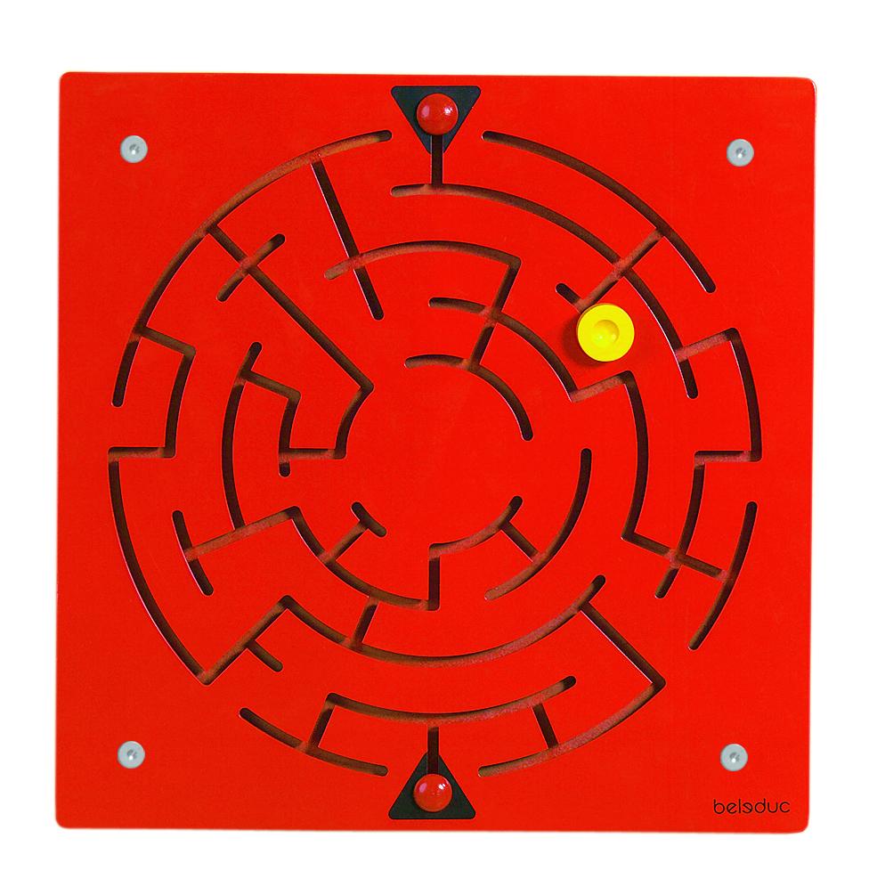 Elément mural labyrinthe