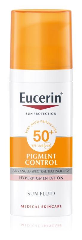 Eucerin sun pigment fluid - spf 50 - 150 ml