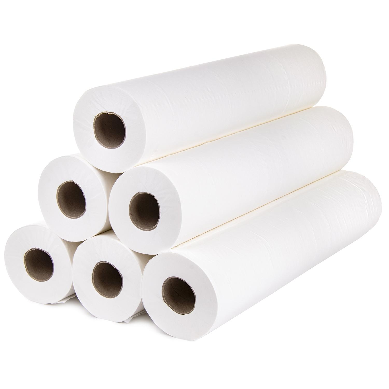 Papier table d'examen - rouleau mince 45 cm x 30 m (12 pcs)