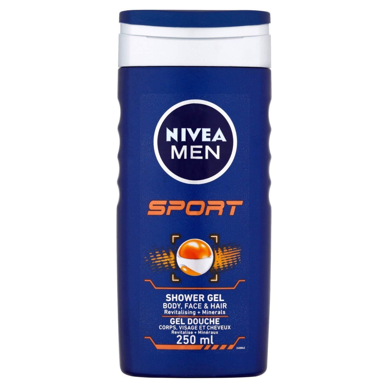 Nivea sport for men shower - 250 ml