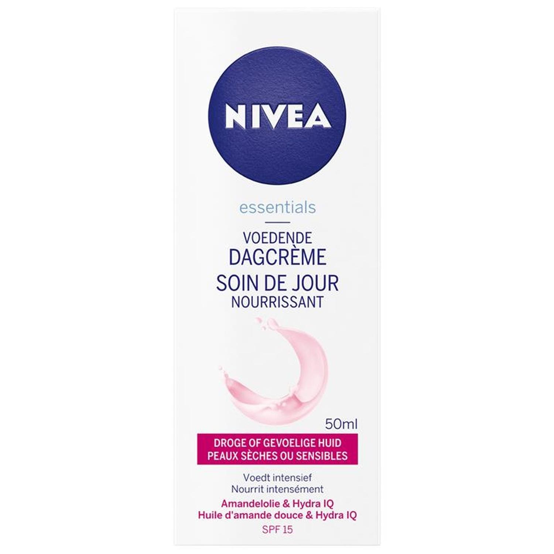 Nivea Essentials 24h Hydratie Boost - crème de jour - nourrissante - peau sèche/sensible - spf15 - 50 ml