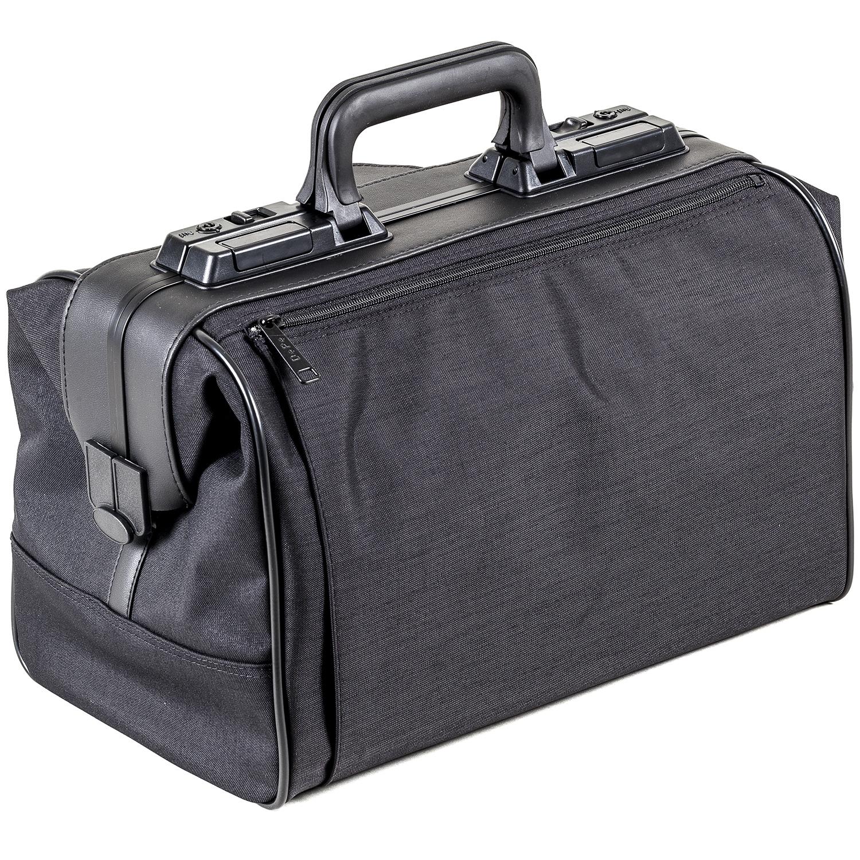 Rusticana sac médecin grand en nylon avec 1 sac - noir