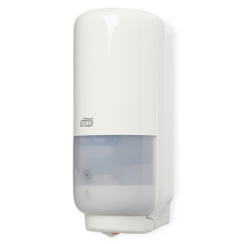 TORK distributeur S4 - sans contact - savon mousse - 1 l