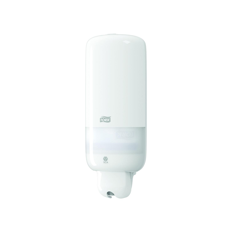 TORK distributeur S1 savon liquide / gel d' alcool désinfectant - 1 l -