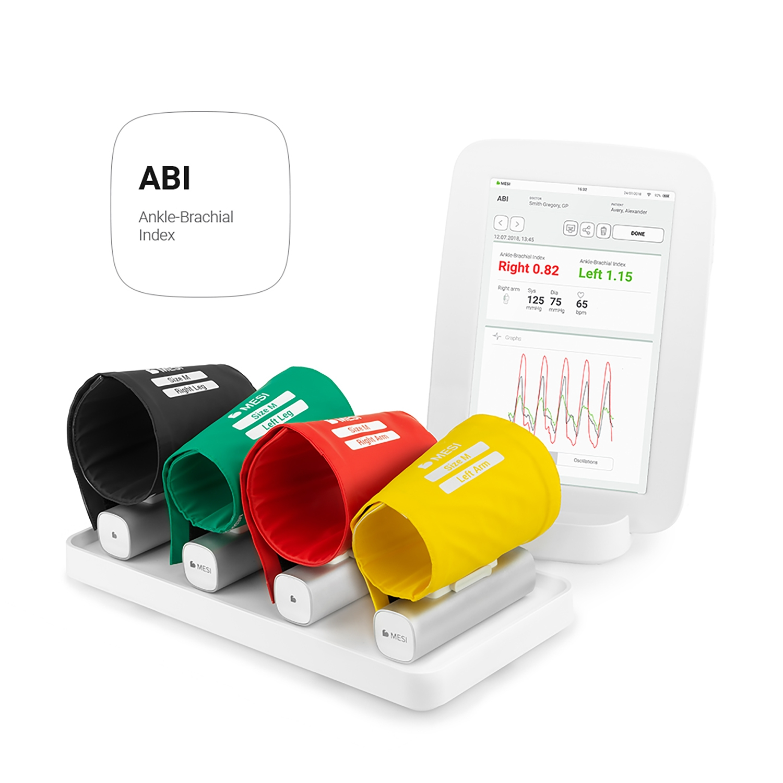 MESI mTABLET ABI - pression artérielle systolique - sans fil