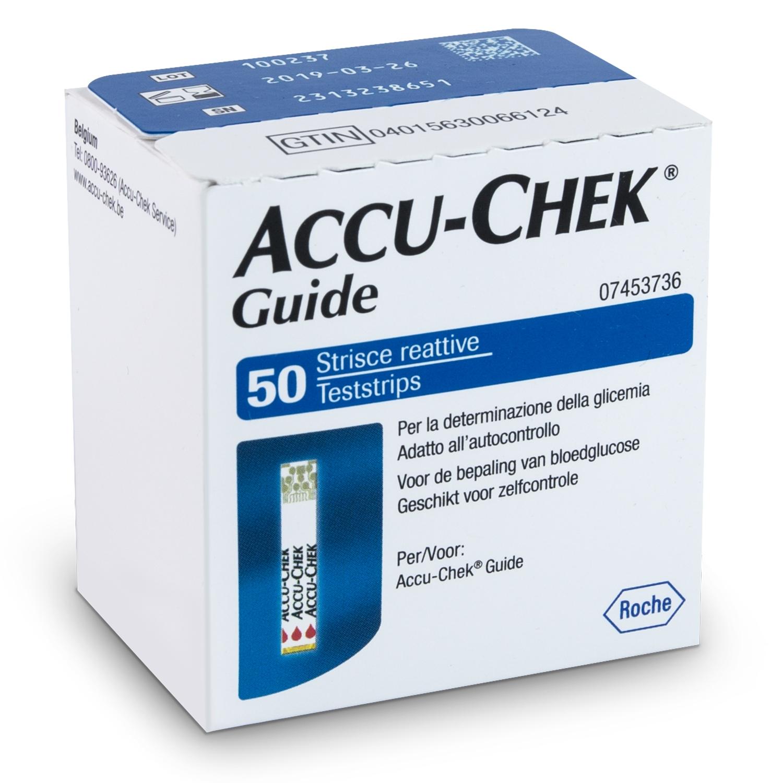Accu-Chek Guide bandelettes réactives (50 pcs)