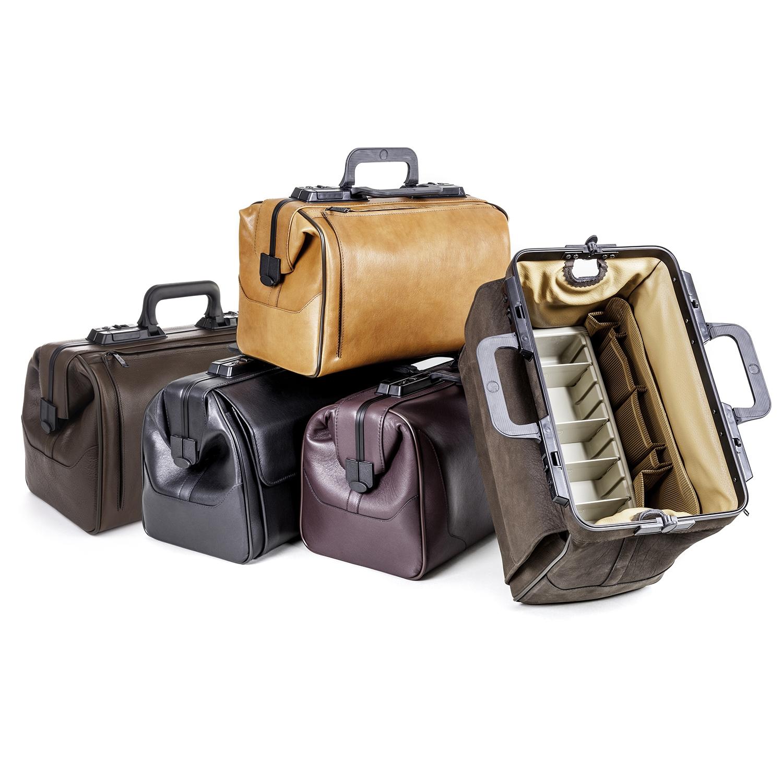 Rusticana grand sac médecin en cuir avec 1 pochette