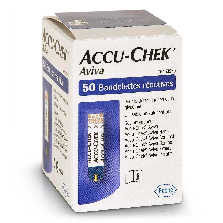 Accu-Chek Aviva bandelettes réactives (50 pcs)