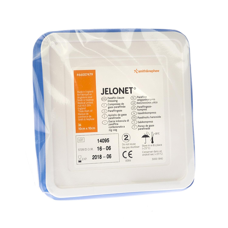 Jelonet tin stérile 36P - 10 x 10 cm