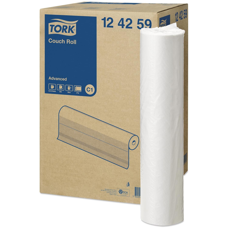 Papier table d'examen Tork - large rouleau 59 cm x 50 m (9 pcs)