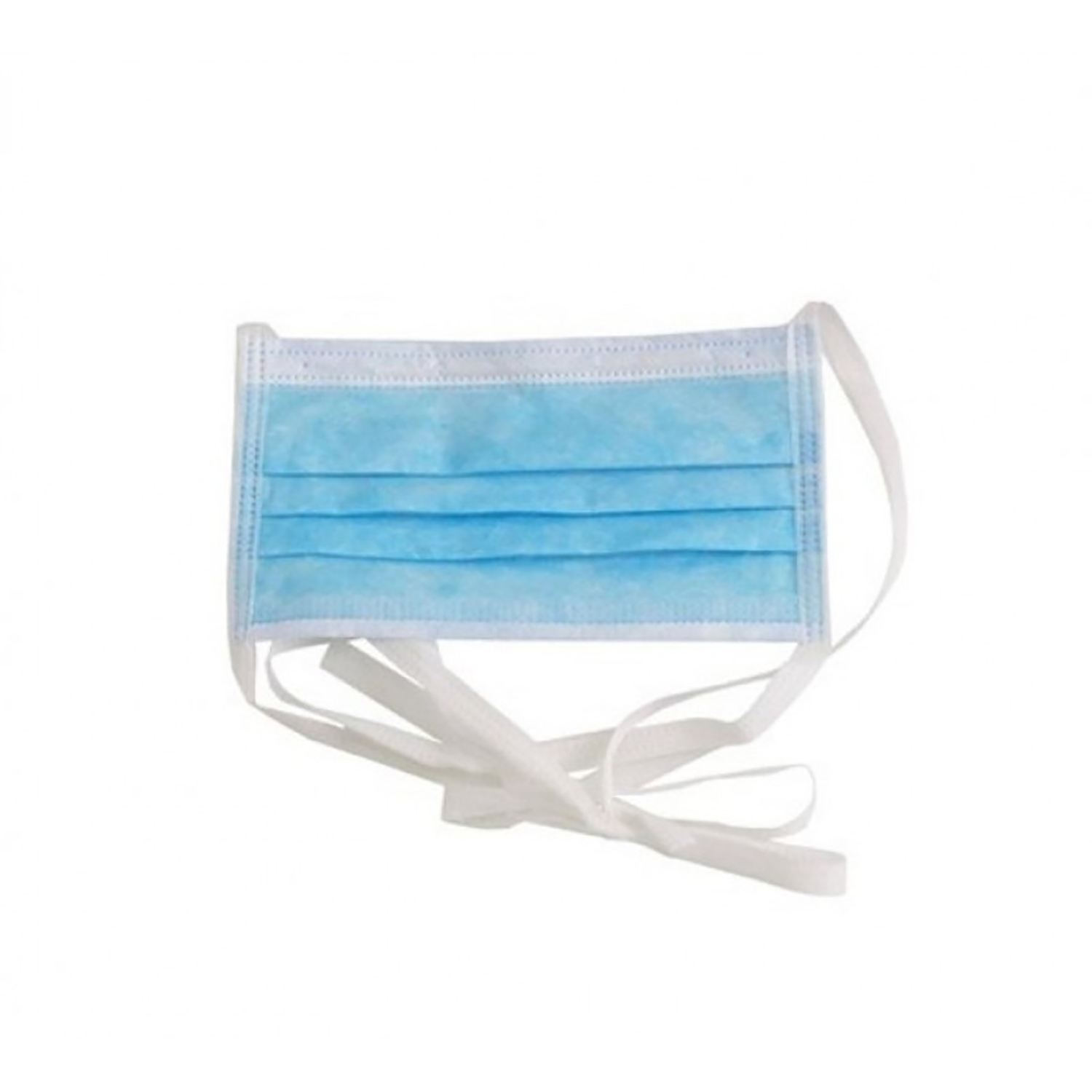 Masque buccal chirurgical type IIR - 3 couches - 4 lanières (50 pcs)