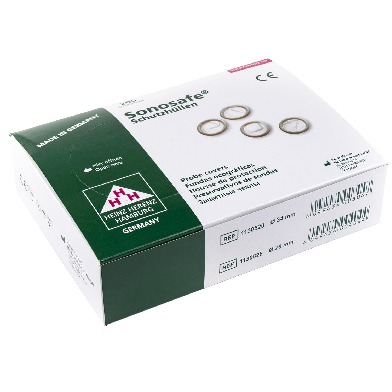Sonosafe préservatifs - 34 mm en vrac (200 pcs)