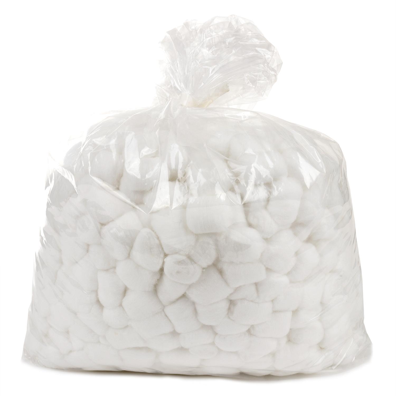 Boules de coton hydrophile- 0,4 gr (1000 pcs)