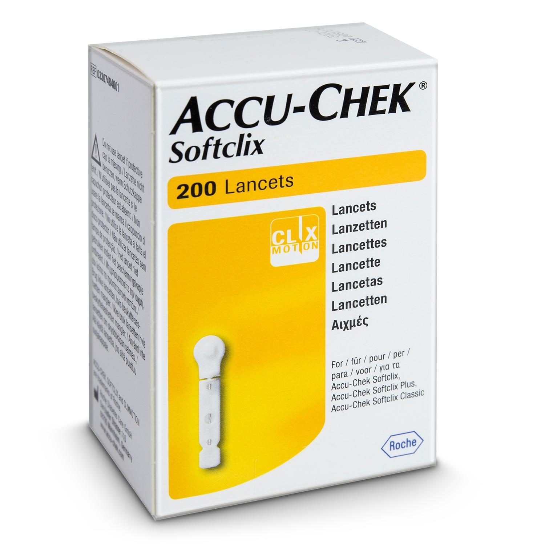 Accu-Chek Softclix Lancettes (200 pcs)
