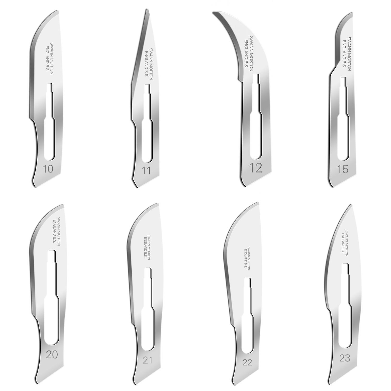 Swann morton stérile (100 pcs)