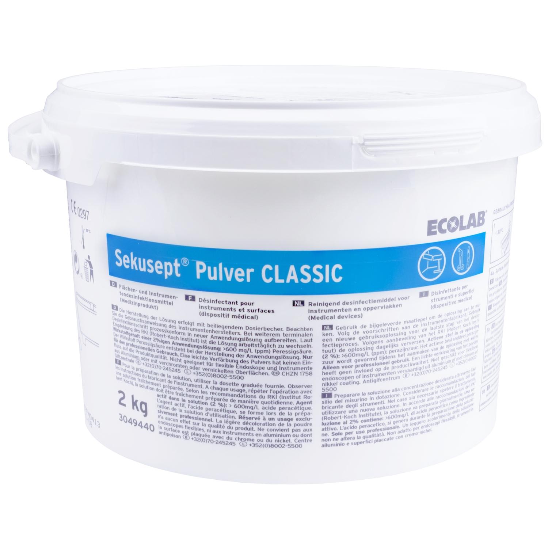 Sekusept Classic - poudre désinfectante - 2 kg