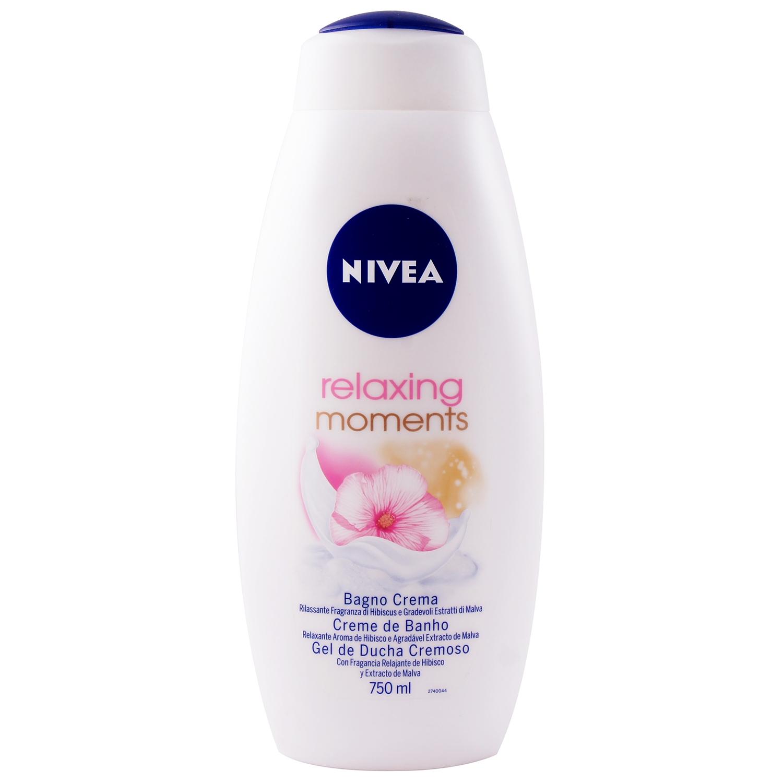 Nivea relaxing moments bath - 750 ml