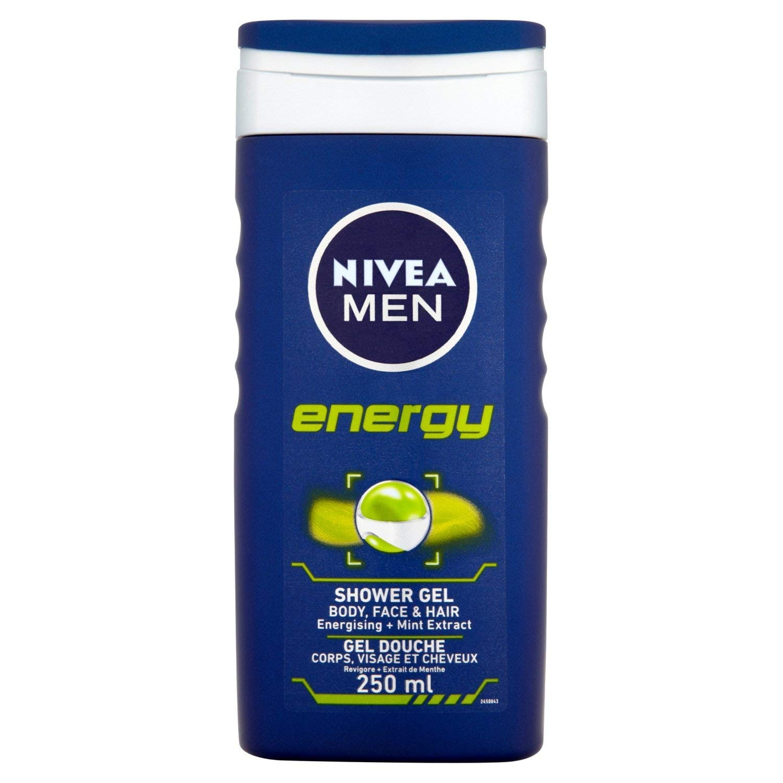 Nivea energy for men shower - 250 ml