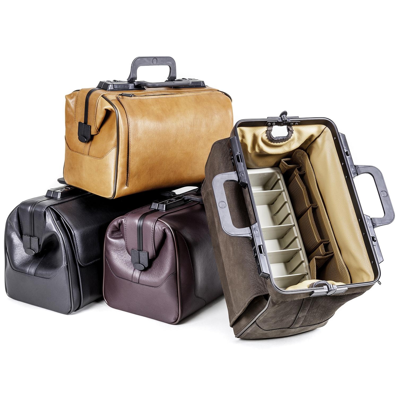 Rusticana grand sac médecin en cuir avec 2 pochettes