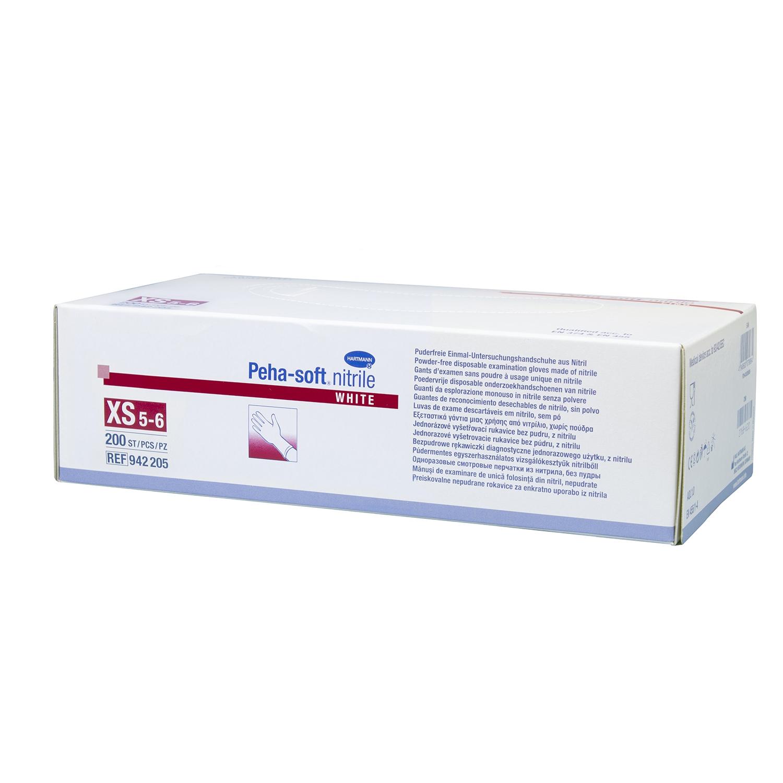 Peha-soft Gants nitrile - blanc