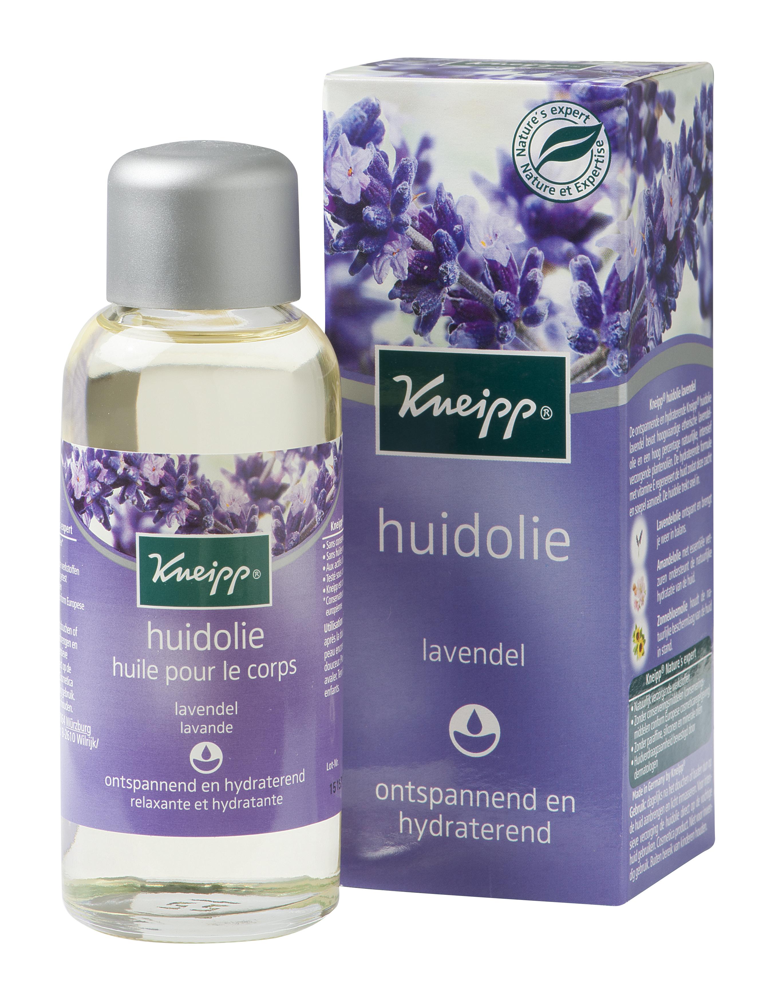 Kneipp huile pour la peau à la lavande - 100 ml