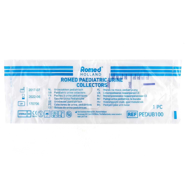 Collecteur à urine pour bébé stérile (10 pcs)