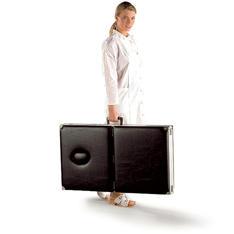 Table de massage portable - noire