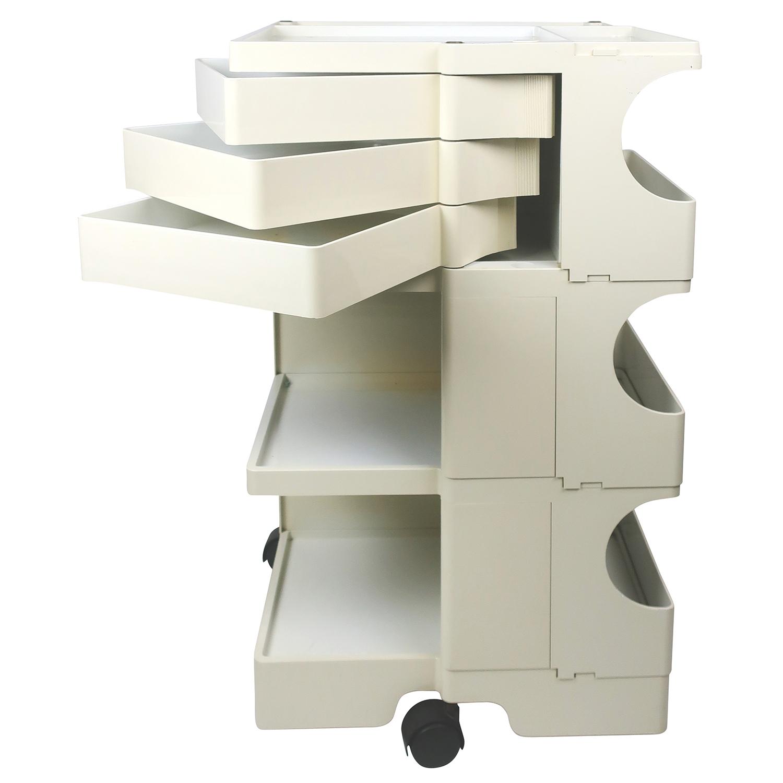 Boby Joe Colombo chariot à instruments - 3 étages - 3 tiroirs / 6 cm