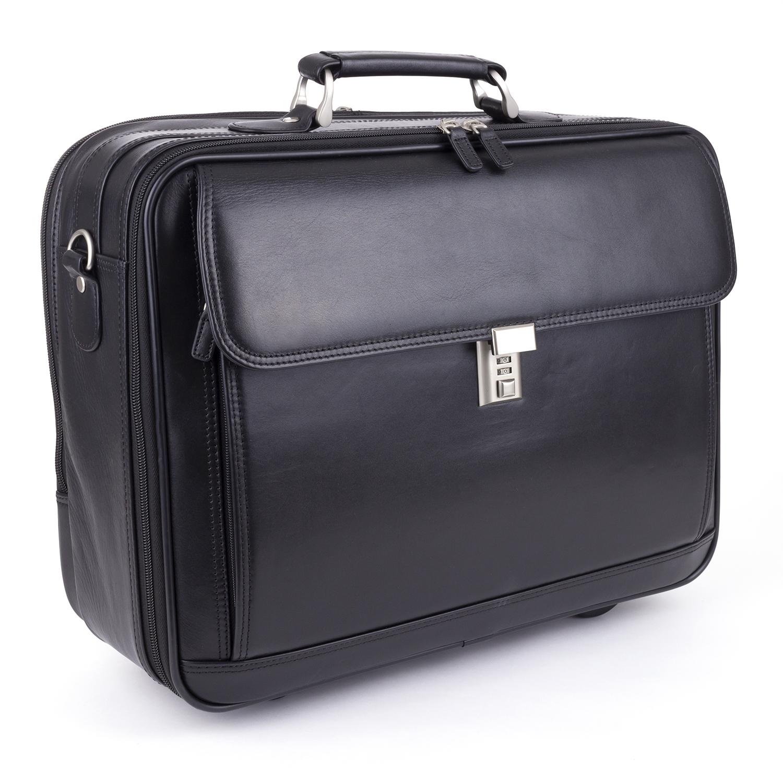 Mobilo sacoche médicale cuir - noir