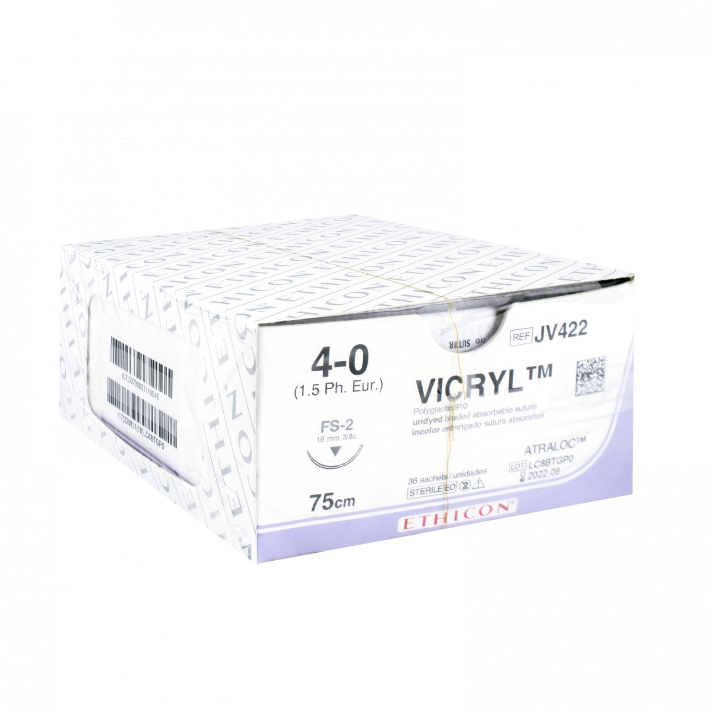 Vicryl - non coloré (36 pcs)