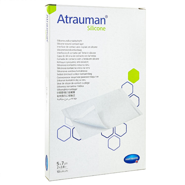 Atraumann silicone - stérile - 5 x 7 cm (10 pcs)
