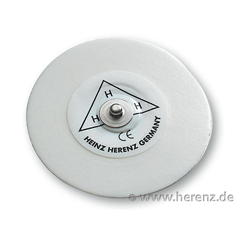 ECG électrode avec support en mousse - adulte - 55 mm (25 pc)