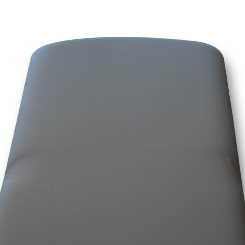 Housse désinfectable table Bobath - sans ouverture-nez - PU - granite