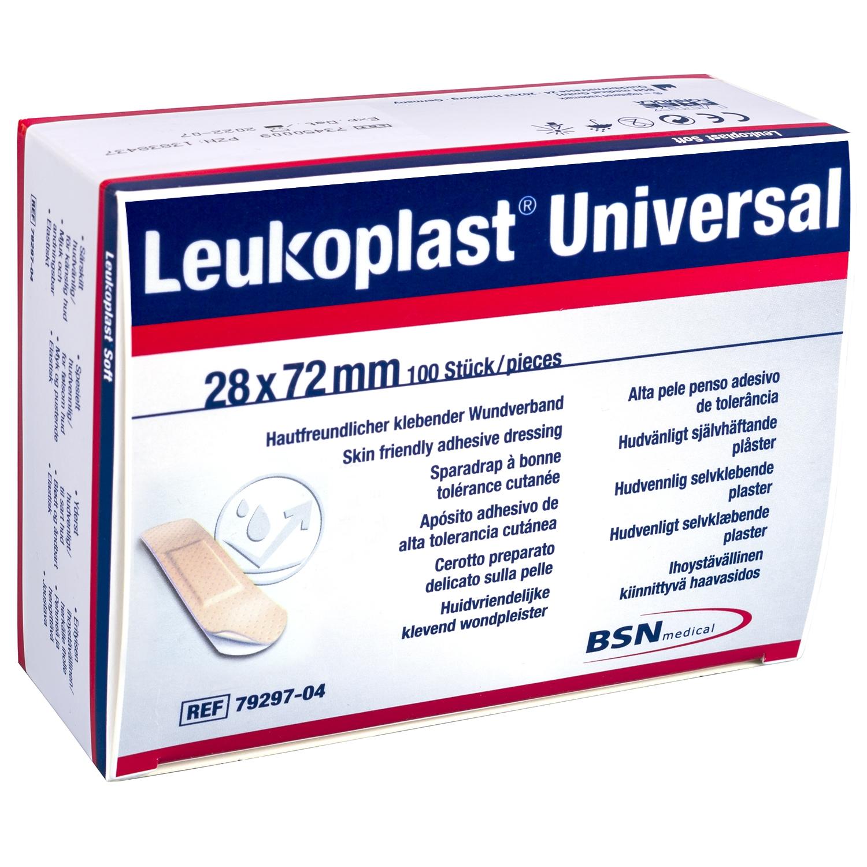 Leukoplast universal - 28 x 72 mm (100 pcs)