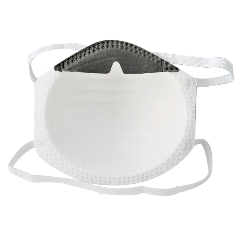 Masque buccal CUP FFP2 - préformé - élastiques tête (20 pcs)