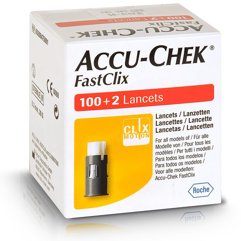 Accu-Chek Fastclix lancettes (17 x 6 pcs)