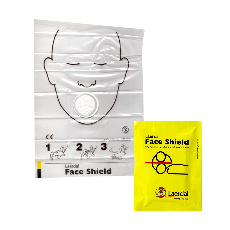 Laerdal resusci face shield - 10 stuks