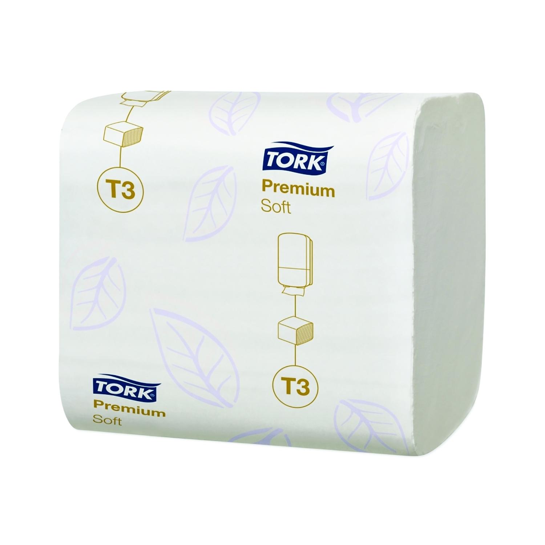 TORK toiletpapier T3 - soft - gevouwen 2 lagen - karton (30 x 252 vel.)