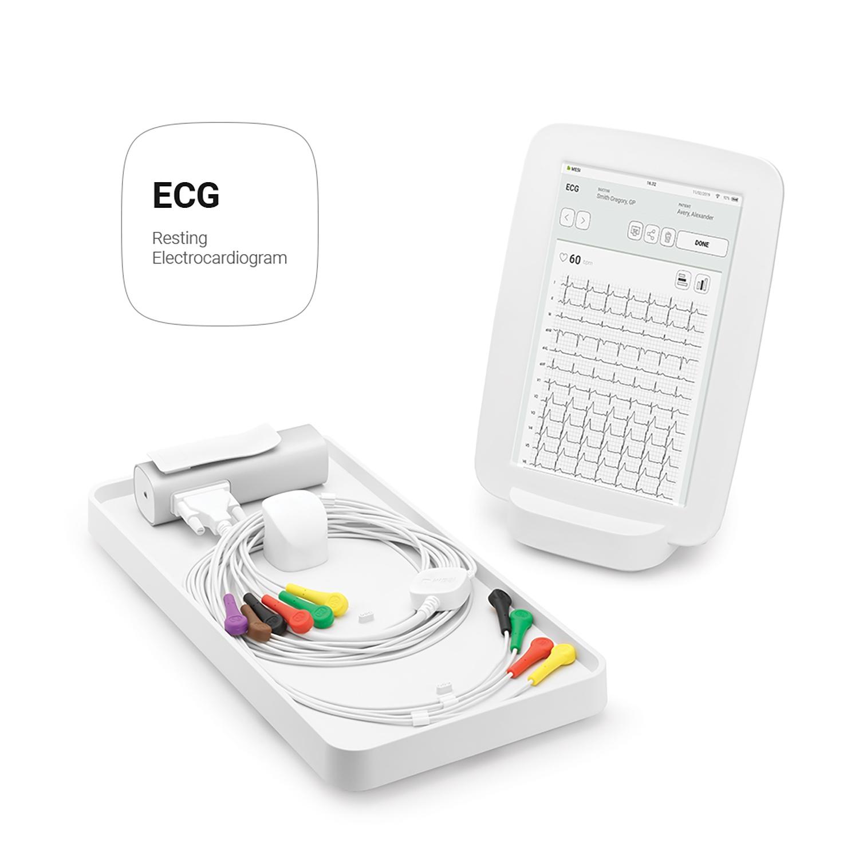 MESI mTABLET ECG - draadloos