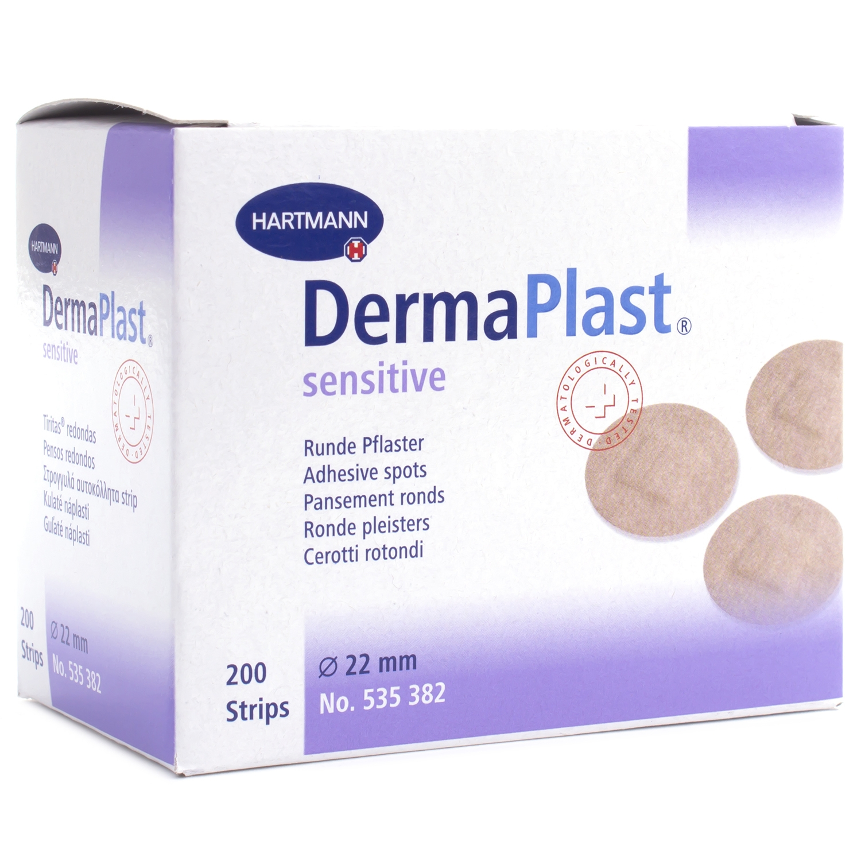 Dermaplast soft injectie spots - 22 mm (200 st)