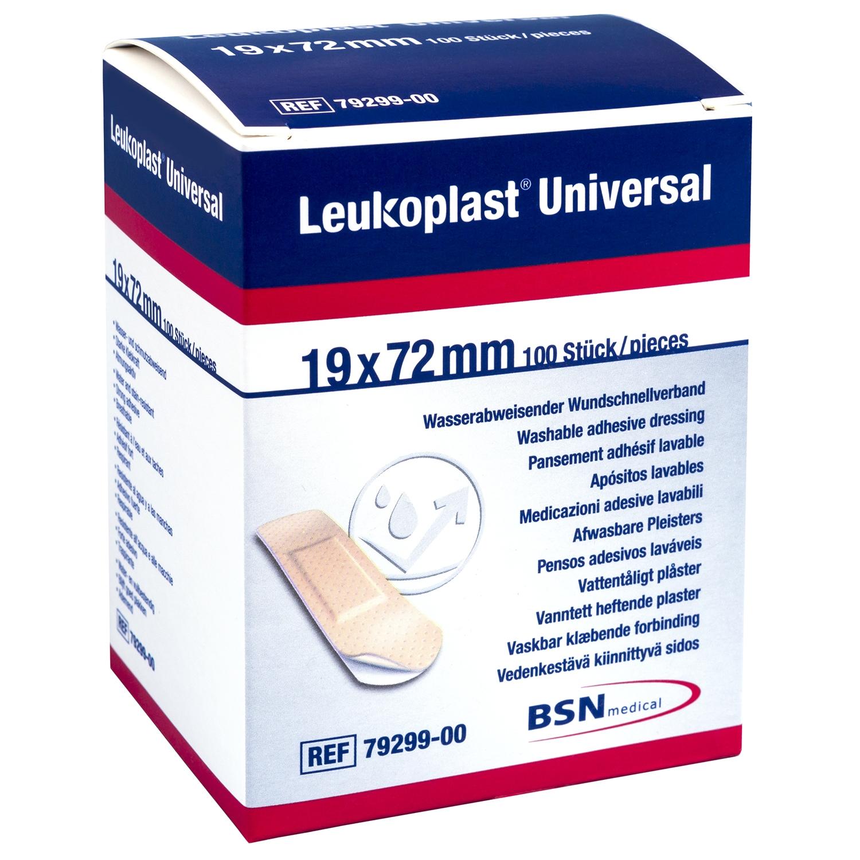 Leukoplast universal - 19 x 72 mm (100 st)