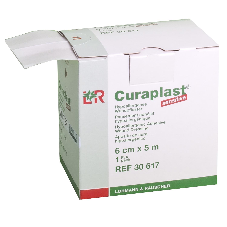 Curaplast sensitive wondpleister rol - 5 m