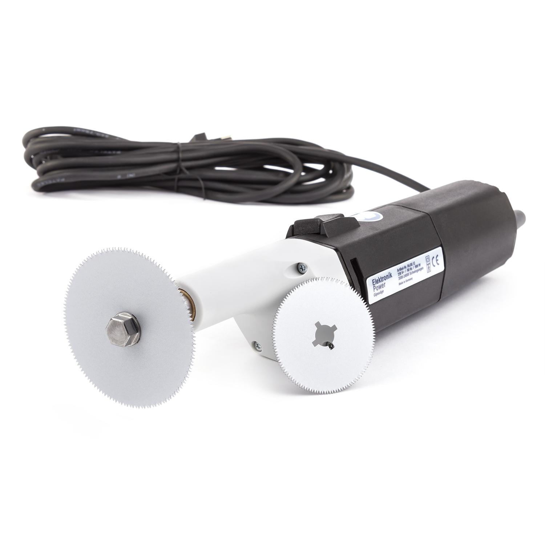 Gipszaag elektronik power incl. 2-bladen
