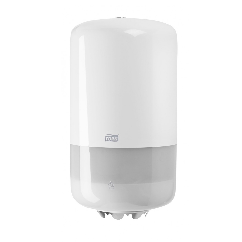 Tork dispenser v. M1 mini roll centerfeed - wit