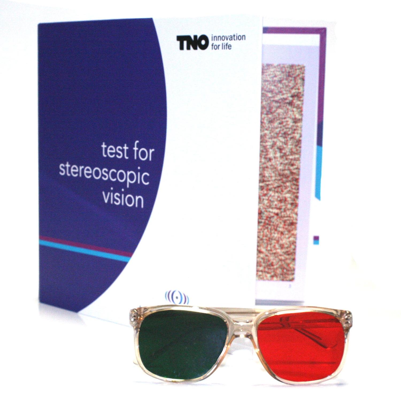 TNO Stereo test met bril