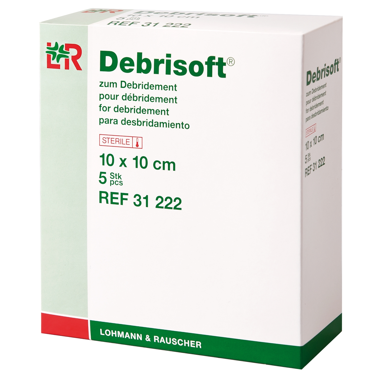 Debrisoft steriel - 10 x 10 cm (5 st)