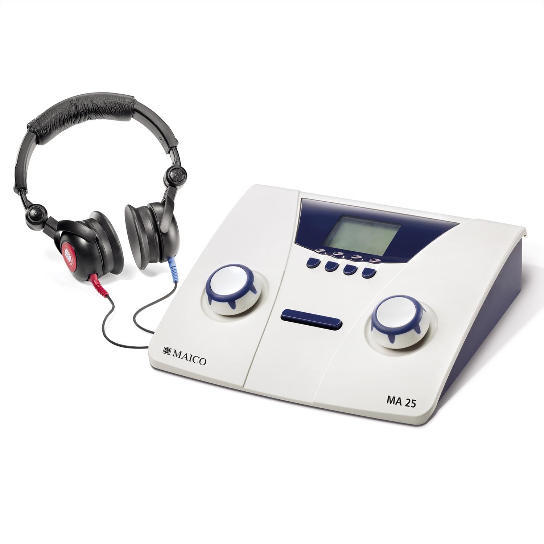 Audiometer Maico MA.25 met dd45 headset