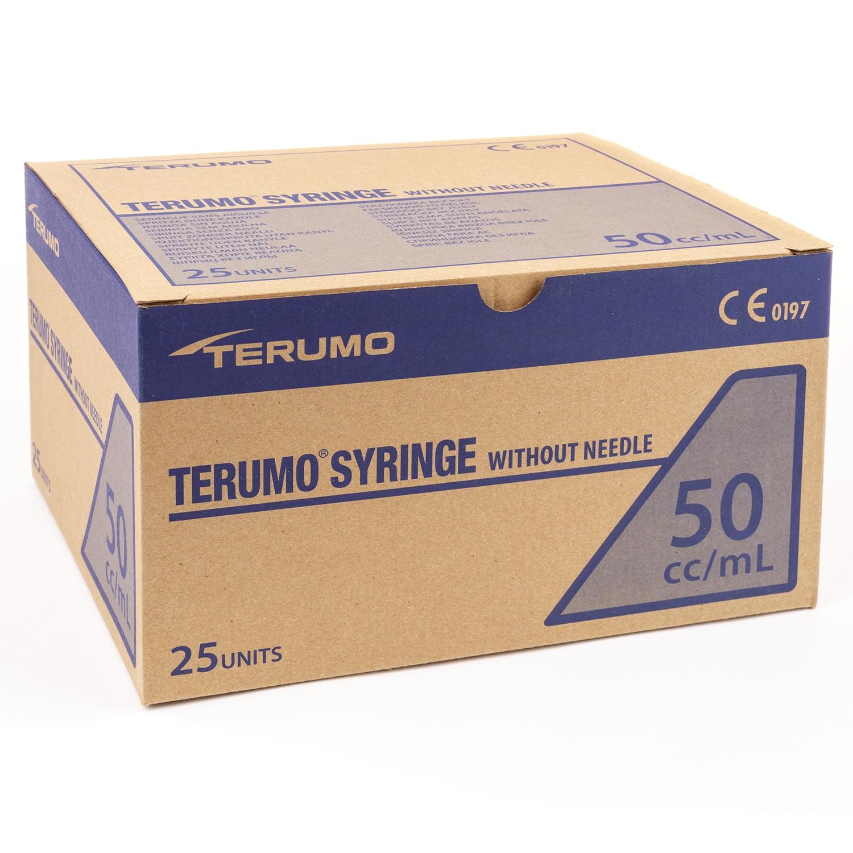 Terumo cathetertip spuit - 50 ml (25 st)