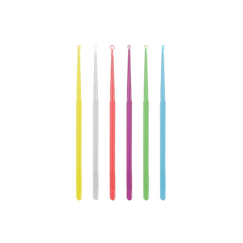 Bionix safe ear curettes flexloop - wit (50 st)