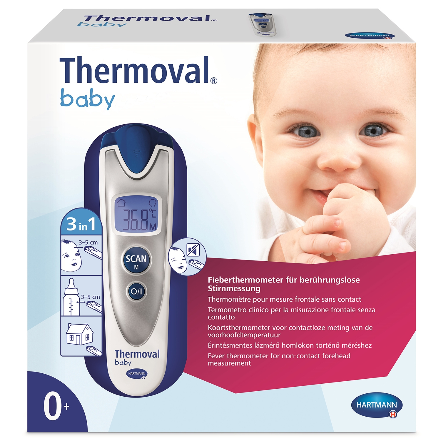 Thermometer Thermoval baby sense